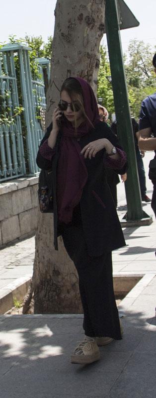 Lo charme di una ragazza a Teheran