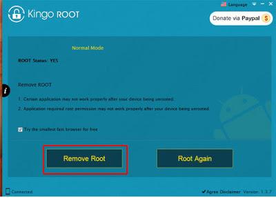 Remove Root KingRoot
