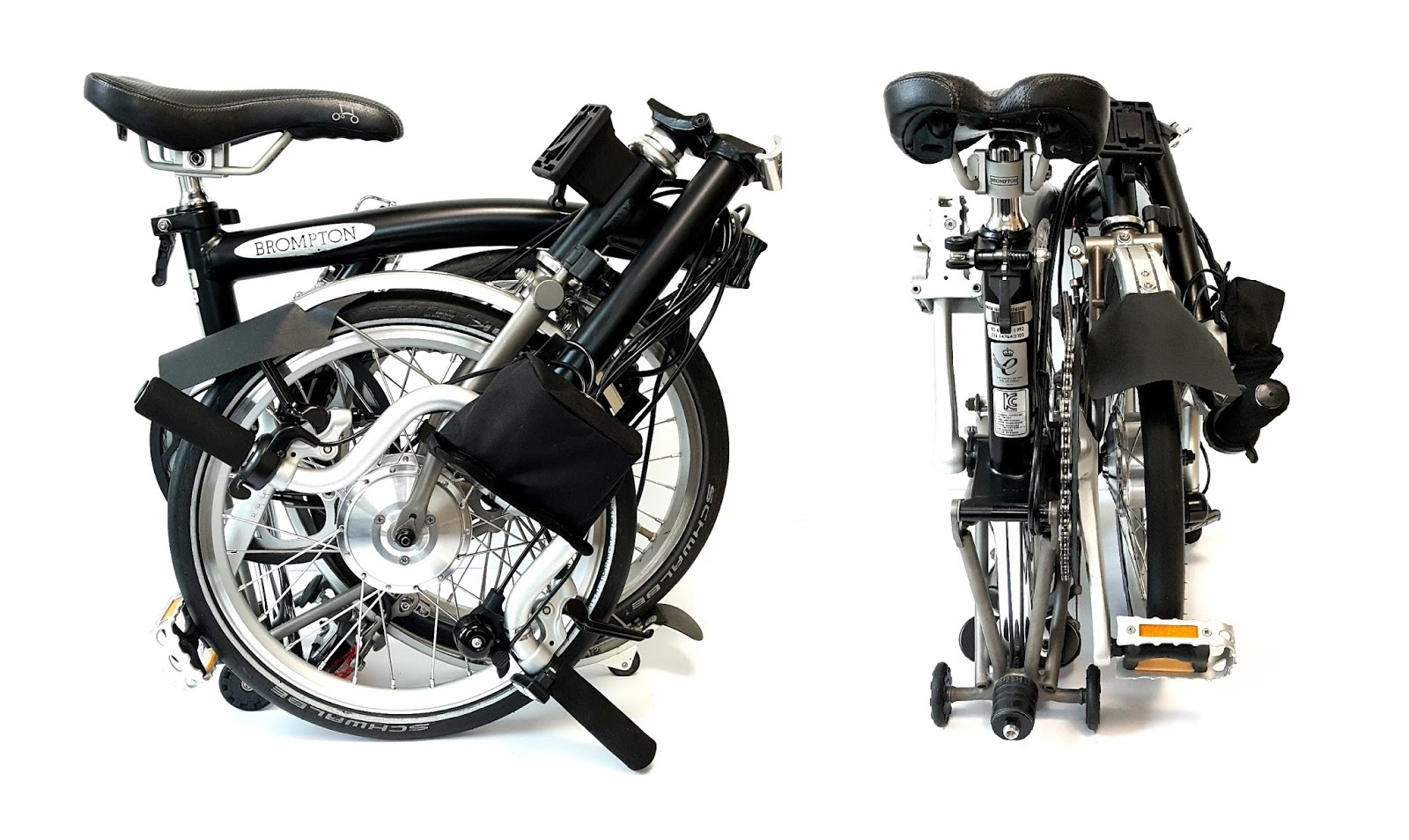 Electric Bicycle Conversion Kit For Brompton Full Package