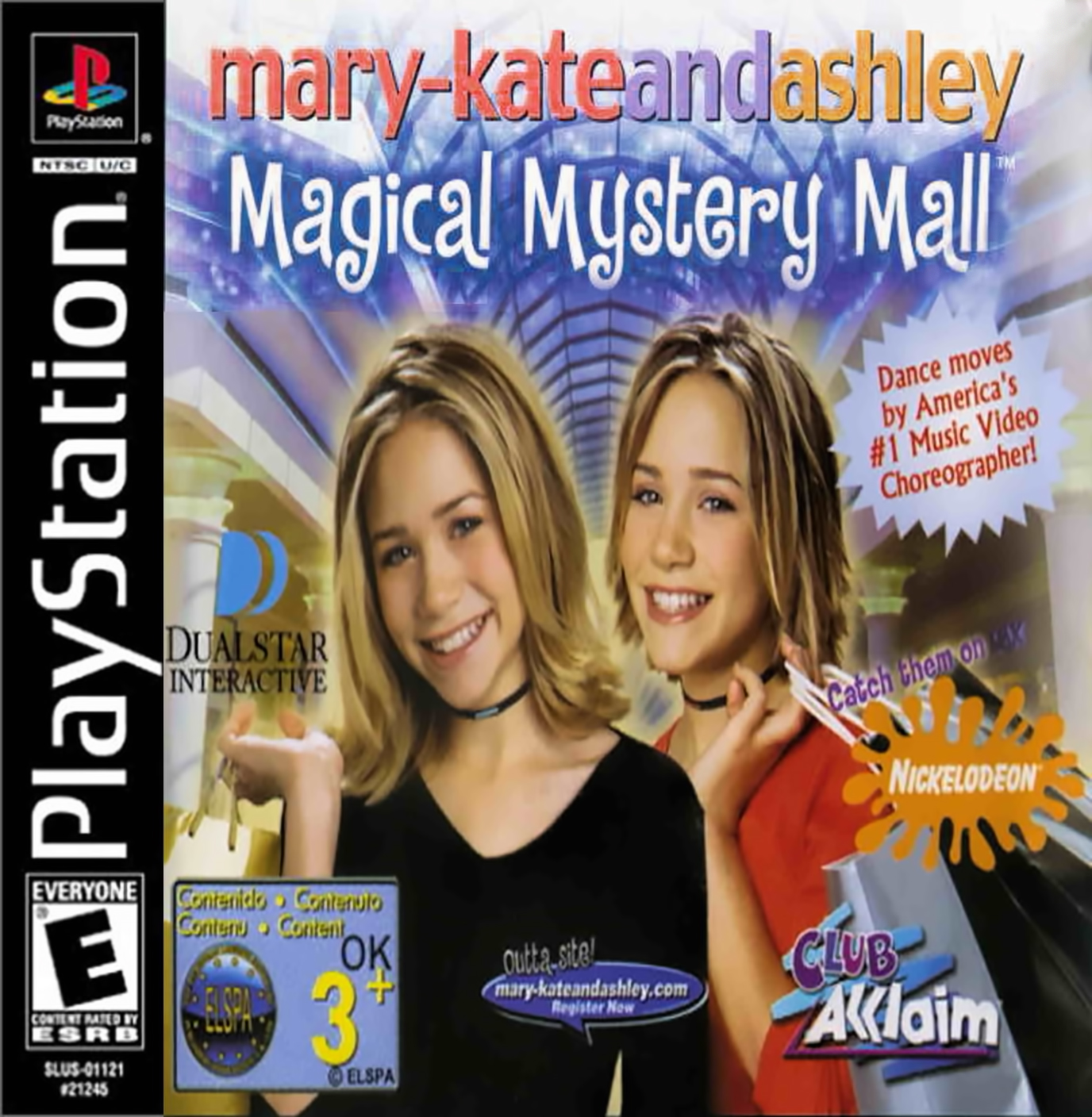 Mary-Kate And Ashley - Magical Mystery Mall  - PS1 - ISOs Download