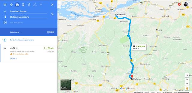घुमक्कड़ी और गूगल मैप - भाग 1