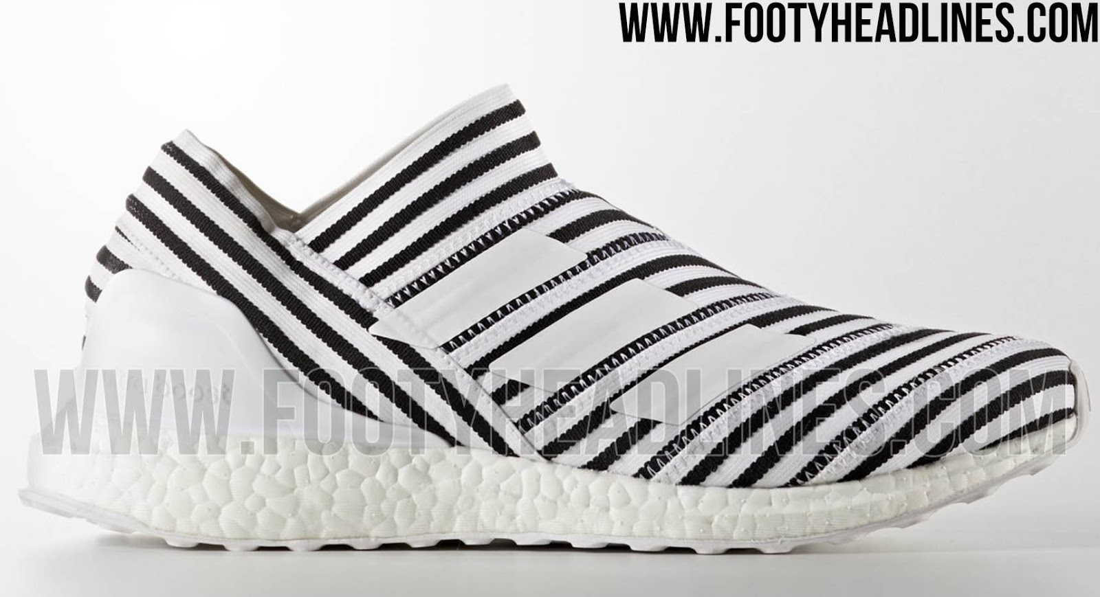 adidas Ultra Boost Mens Ba8841 Triple White Primeknit