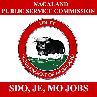 Nagaland Public Service Commission, NPSC, PSC, Public Service Commission, Nagaland, SDO, MO, JE, Junior Engineer, Graduation, freejobalert, Sarkari Naukri, Latest Jobs, npsc logo