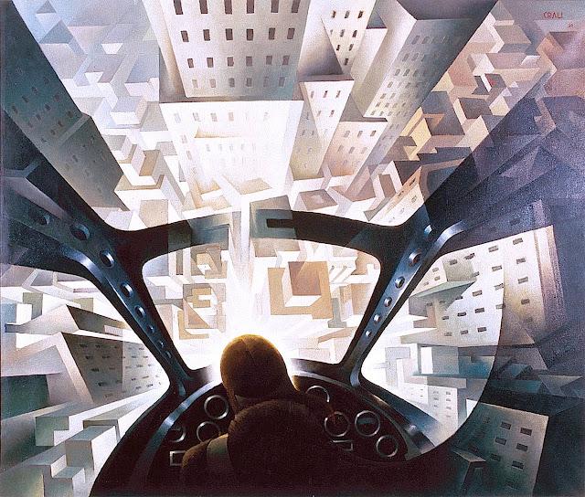 1939 Futurism painting by Tullio Crali