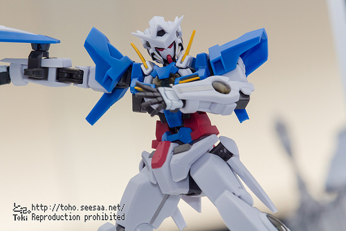 THE ROBOT SPIRITS- SIDE MS Gundam Exia Repair II and Repair III Parts Set