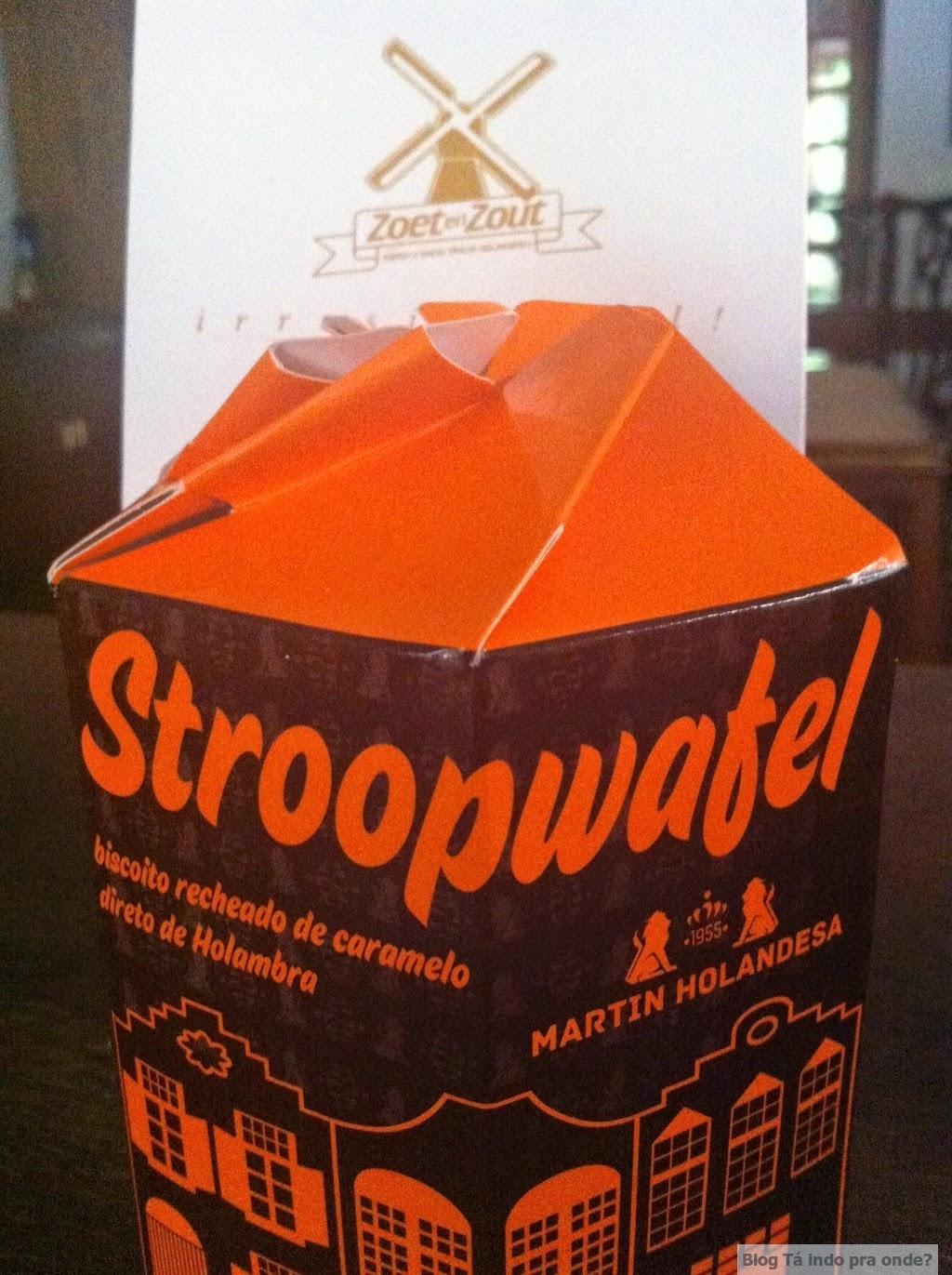 comparando os stroopwafels de Holambra