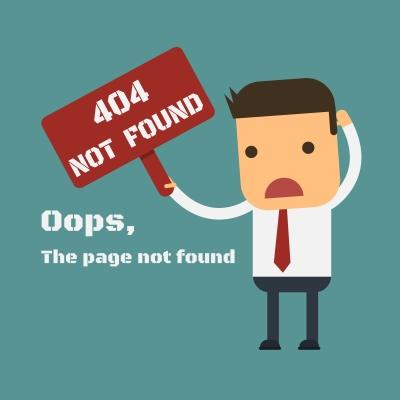 404 Error Tips