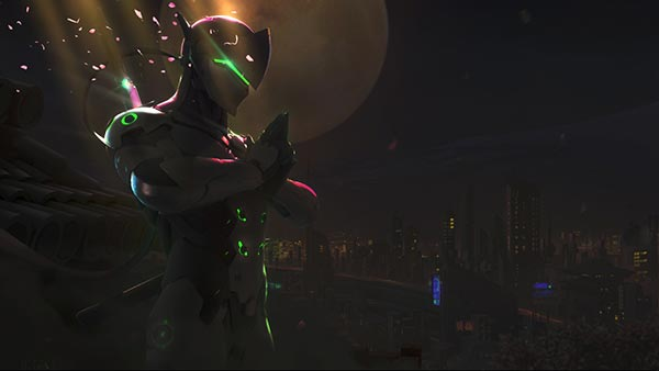 Genji [Overwatch] Wallpaper Engine