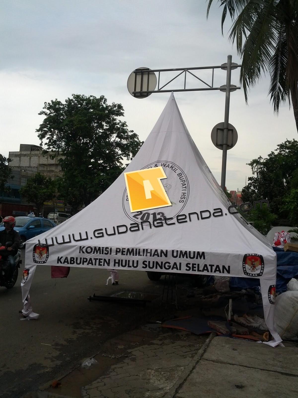 Tenda Promosi Produk, Tenda Kerucut promosi