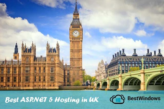 Best & Cheap ASP.NET 5 Hosting in UK