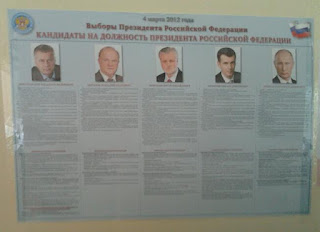 5 Candidates for Russian Election 2012