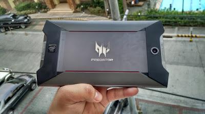 Acer Predator 8 Back