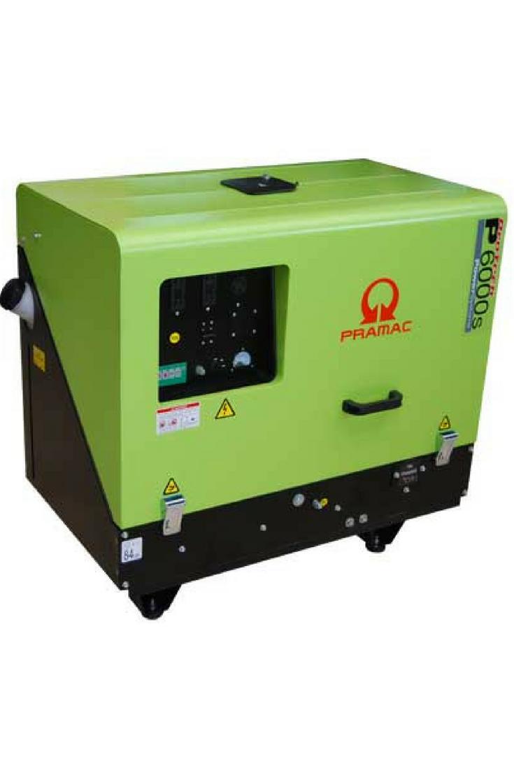 Generador pequeño diesel