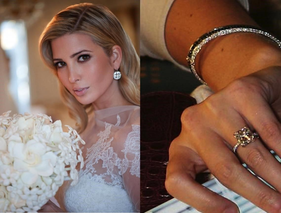 ivanka trump engagement ring collection