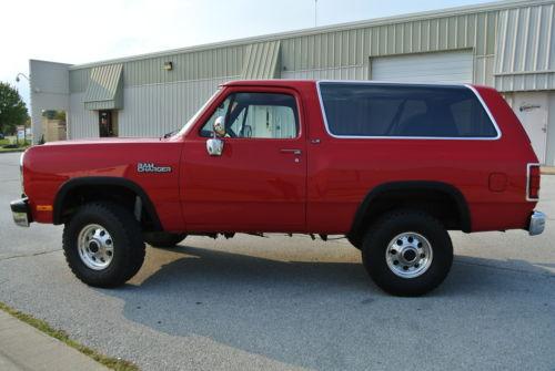 The Fantastic 1993 Dodge Ramcharger For Sale Craigslist