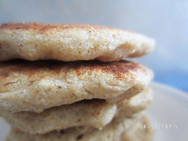 Coconut Sorghum Pancakes by Raia's Recipes