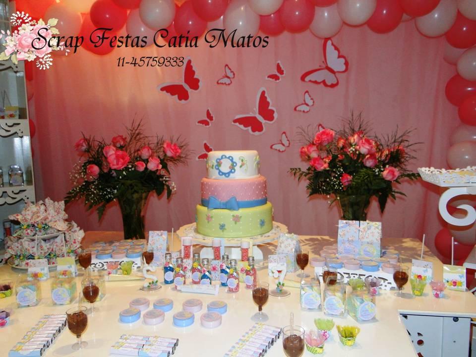 Mesa De Feliz Aniversario Bolo Para Sobrinha Imagens: Scrap Festas: Aniversário Shabby Chic Jardim Das Borboletas