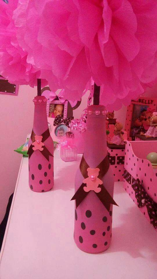 Aprende cmo decorar botellas con globos de cumpleaos Mimundomanual