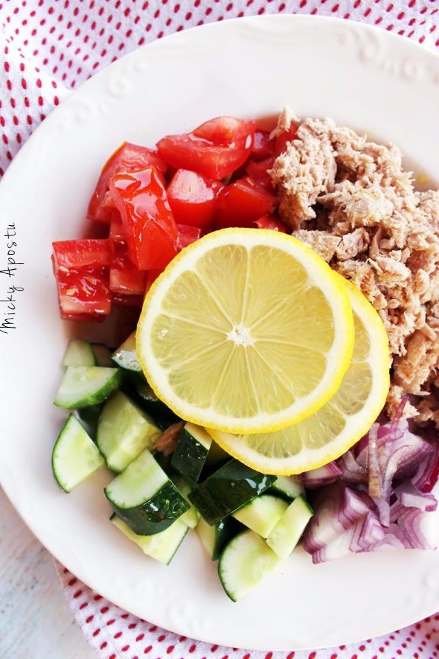 Cea mai simpla salata de ton