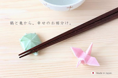 Origami Chopstick Rests
