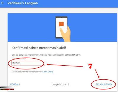 Amankan Akun Google Dengan Verifikasi 2 Langkah