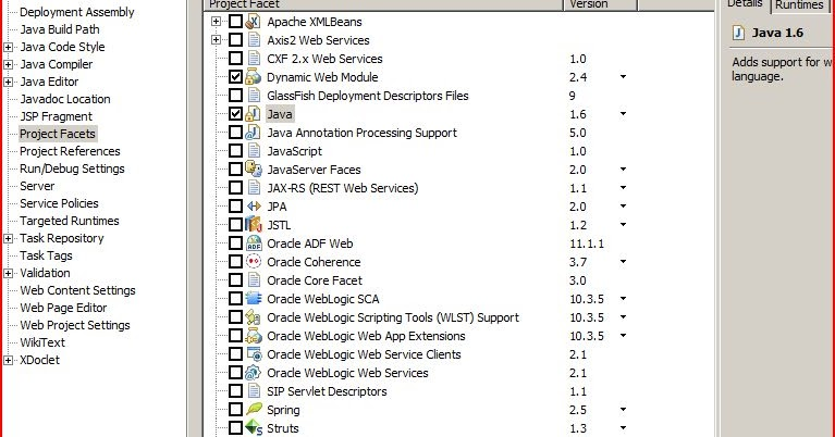 Java mon amour: Java compiler level does not match the