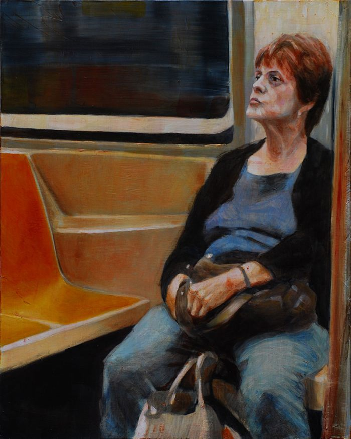 Люди в метро. Yotam Zohar