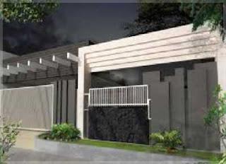 pagar rumah minimalis terkini