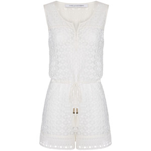 Hamptons cotton lace romper, $248 from Diane von Furstenberg