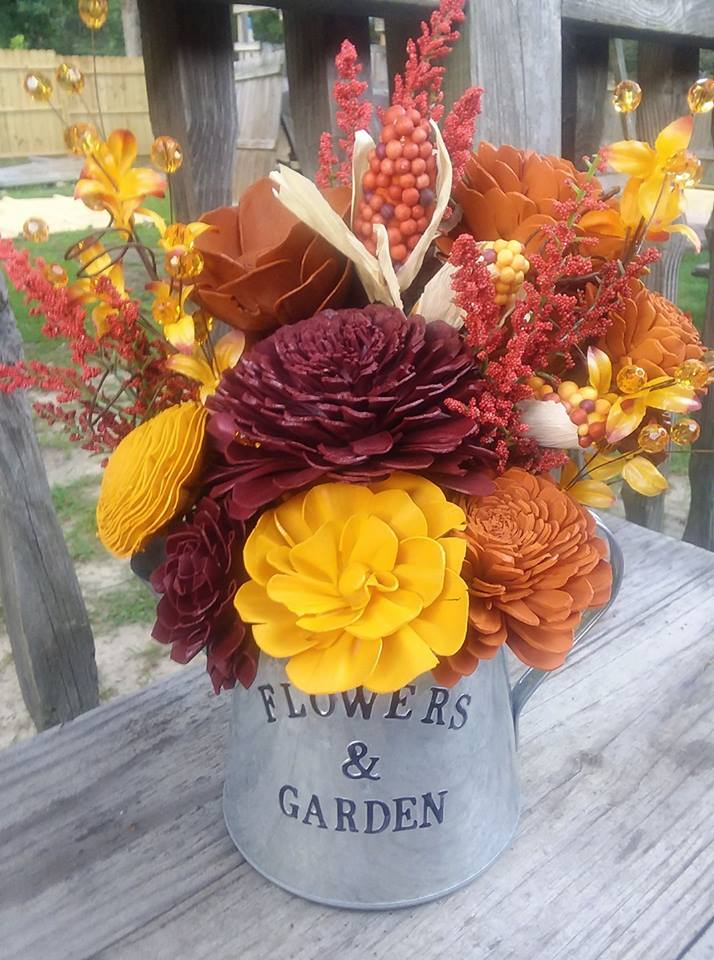 Sola Wood Flowers Blog: Fall Floral