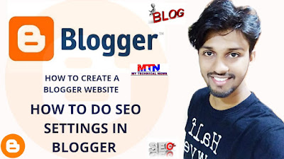 how to create a free website using blogger.