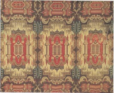 Carpet, Anonymous, 1835-1850, Great-Britain ( BANHAM Joanna, PORTER Julia,Victorian Interior Design, Londres, Studio Edition Ltd, 1995, p. 56.)
