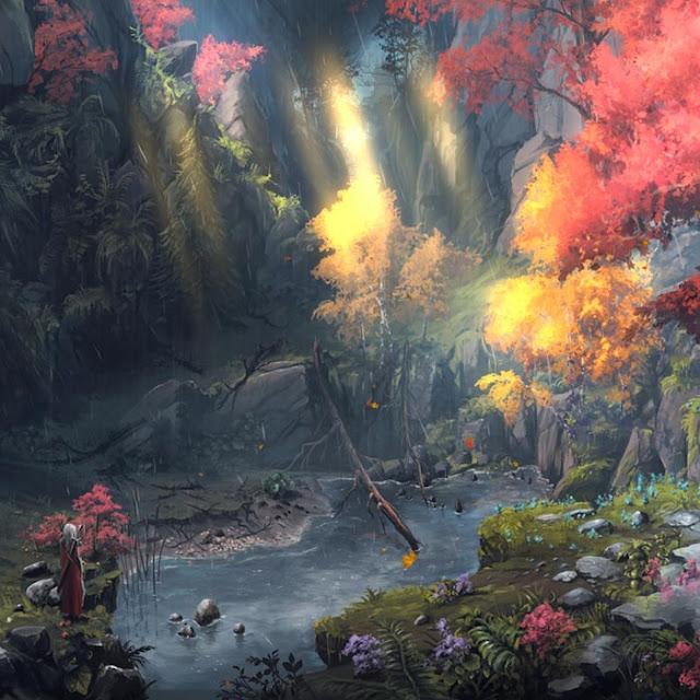 Adventurer's Forest Wallpaper Engine