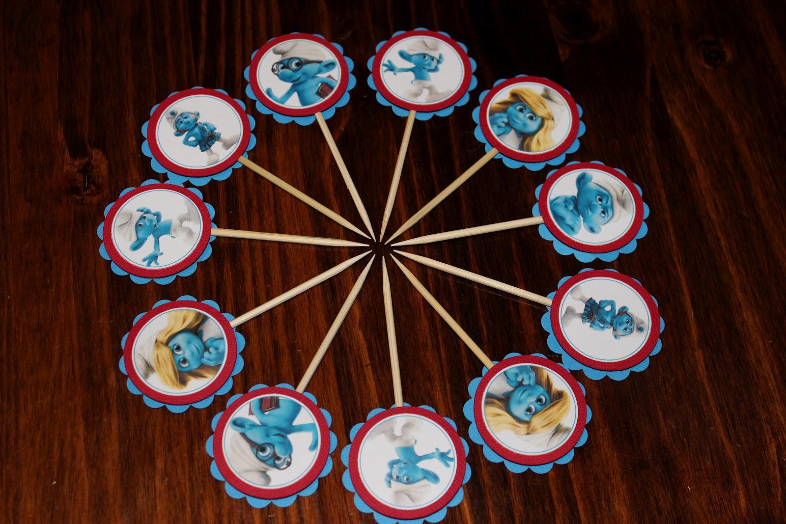Handmade By Liesl: Smurf Party