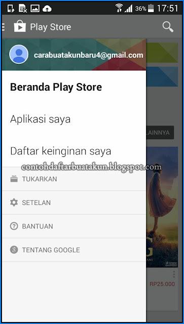 Daftar Akun Google Dan Cara Mengaktifkan Play Store