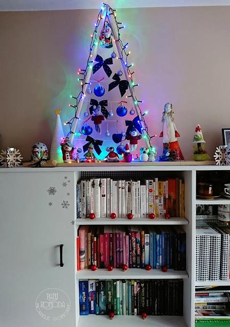 salon dekoracja świąteczna