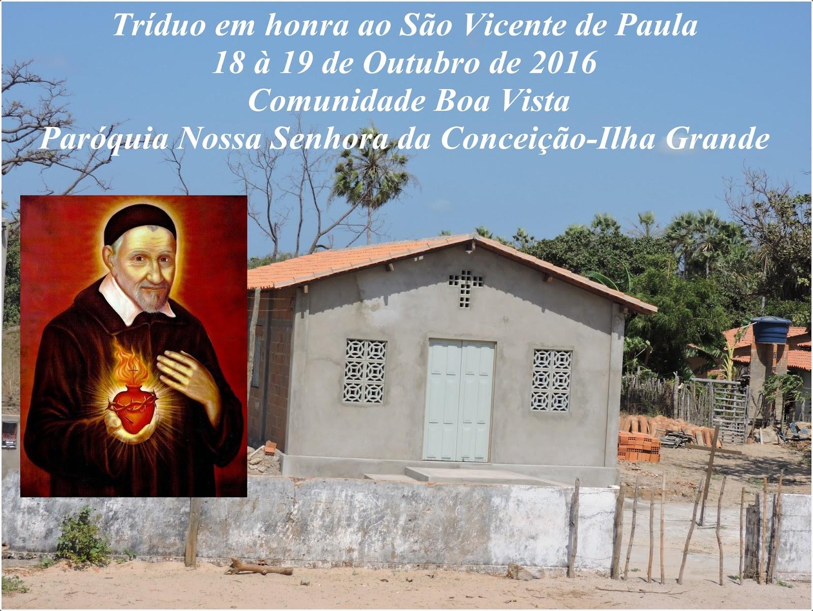 Tríduo São Vicente de Paula