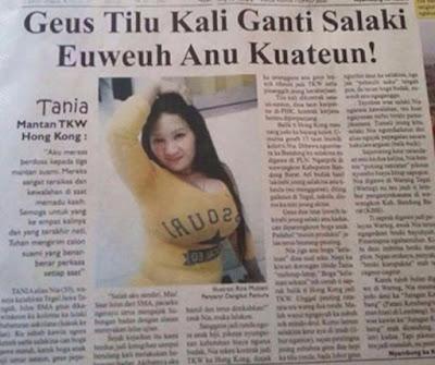 koran Tania Ditinggal 3 Suaminya