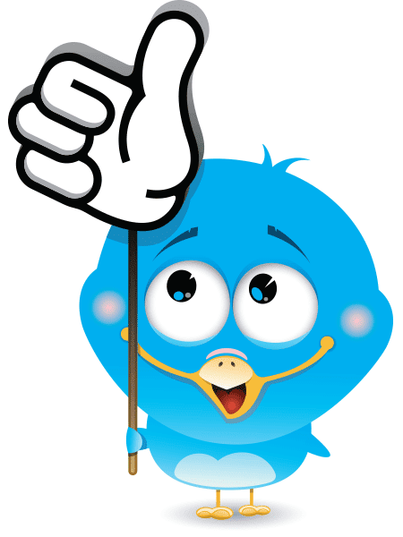 Thumbs Up Bird Icon