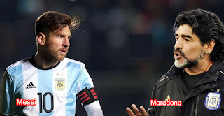 Messi is better than Maradona.