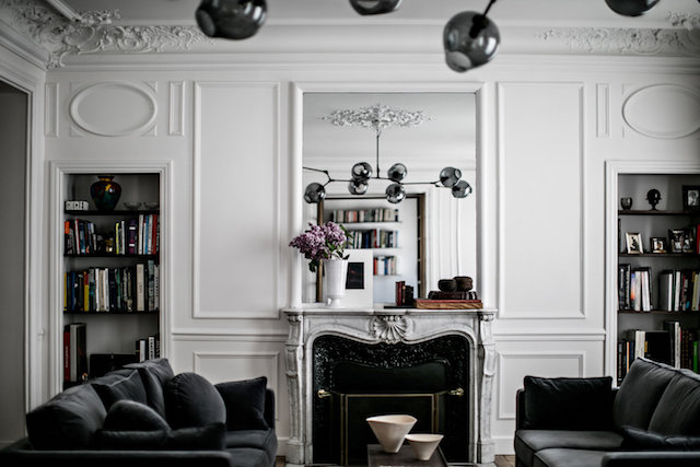 An elegant Paris apartment