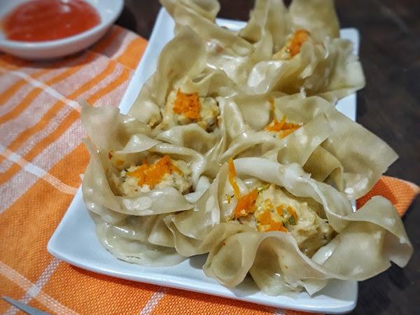 Resep Siomay Ayam Udang Ala Dimsum yang Simpel