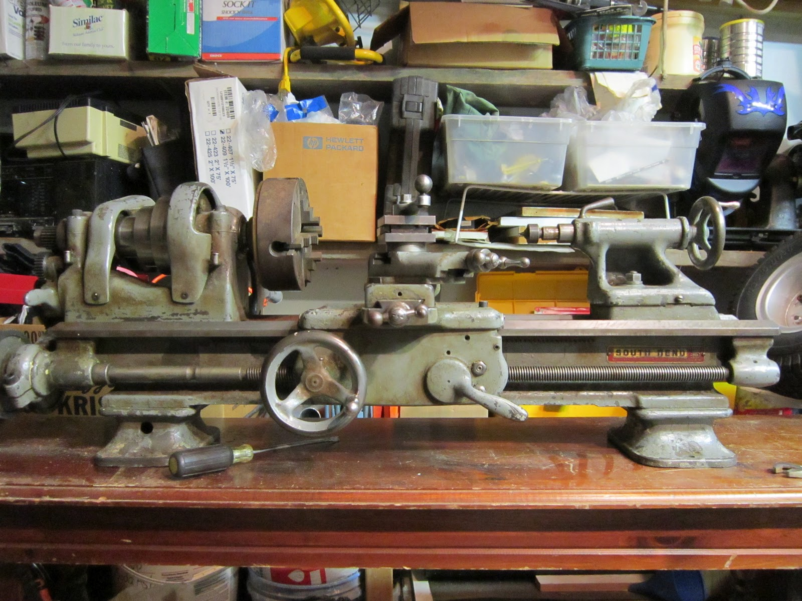 Maniac Mechanics: My new old South Bend Lathe