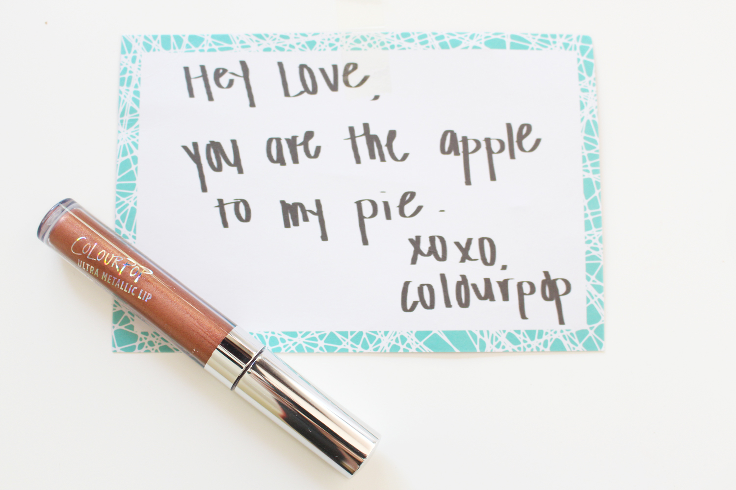 colourpop ultra metallic liquid lipstick man eater review