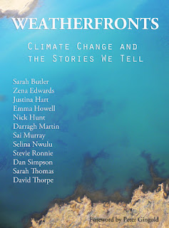 cover for e-book Weatherfronts: climate change and the stories we tell