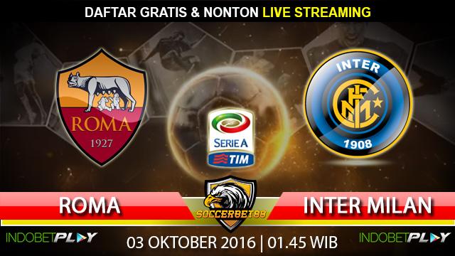 Prediksi Roma vs Inter Milan 03 Oktober 2016 (Liga Italia)