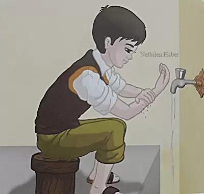 abdest alma sol kolu yıkama