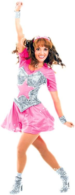 Foto de Tatiana con vestuario de animadora
