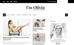 Olivia Fashion blogger template