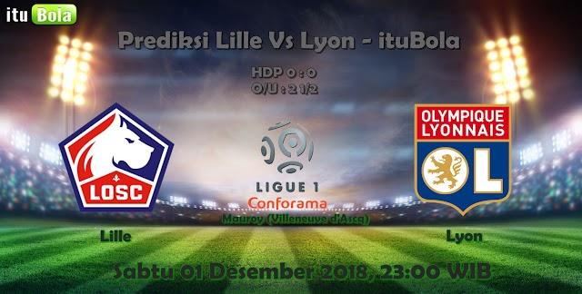 Prediksi Lille Vs Lyon - ituBola
